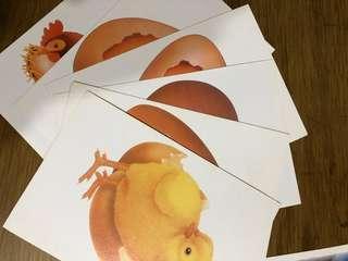 🚚 幼兒用 進化圖片卡