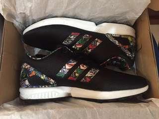 Adidas Originals ZX Flux Logos Multi Color Black