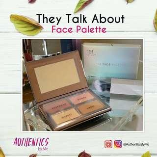 [NEW] THEY TALK ABOUT FACE PALETTE 4 in 1
