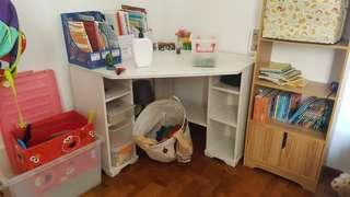 Corner study table from Ikea