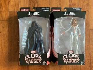 Marvel legends cloak dragger set