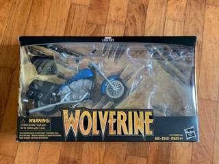 Marvel legends Wolverine motorbike
