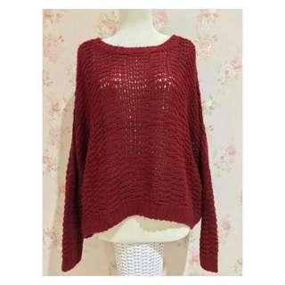 FOREVER21 ORIGINAL/Red Sweater