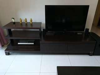 TV Console (Solid Wood)