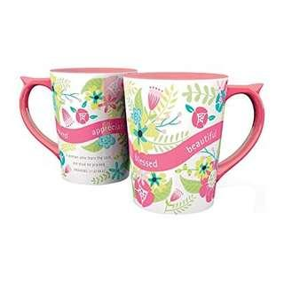 #idotrades dayspring fear the Lord floral cup