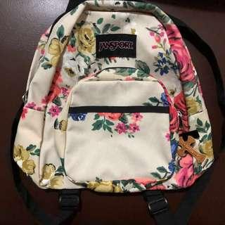 Jansport floral backpack (small)