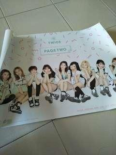 Twice Page Two Thailand Edition Poster