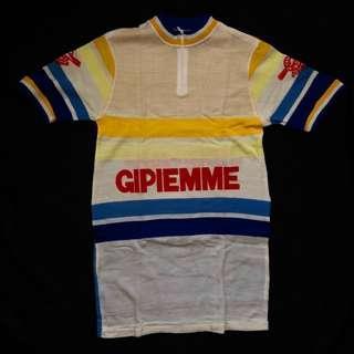 (NOS) 1960-70Ss GIPIEMME WOOL CYCLING JERSEY