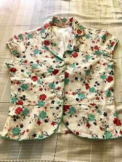 Forever21 Floral Outerwear