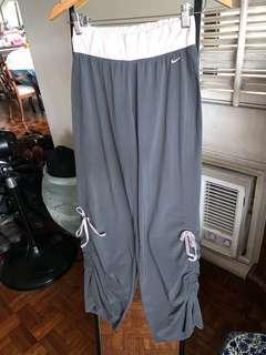 Nike Gray Yoga Gym Loose Pants