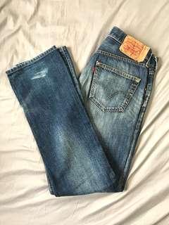 🚚 Levis 501 牛仔褲 31x34