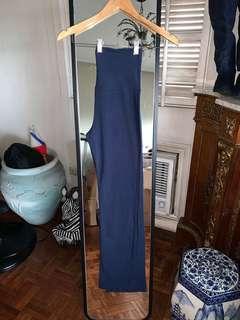 Dark Blue Yoga Gym Pants