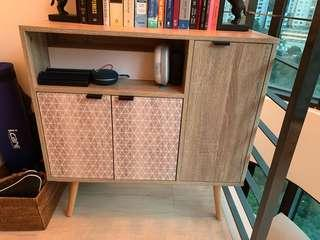 Great condition, barely used TV stand!