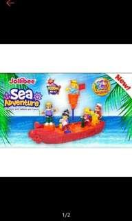 Jollibee Sea Adventures SEALED