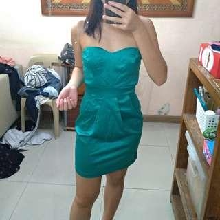 A' Gaci Teal Dress