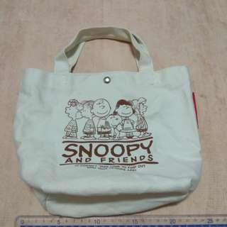 🚚 PiGi 史努比 史奴比 便當袋 環保袋 手提包 包包
