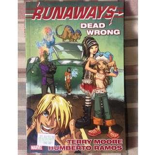 Runaways Vol. 9: Dead Wrong TPB