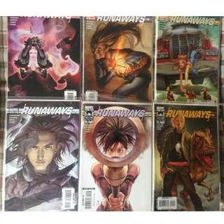 Runaways Comics set