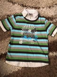 Pumpkin Patch collared shirt fits 4-5y