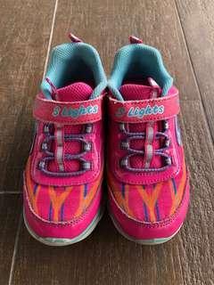 Skechers S-Light Sports Shoes, size US10