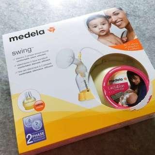 Medela Swing Breastpump (FREE Philips Avent Manual Breastpump)