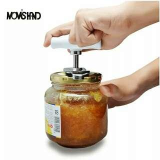 🚚 Adjustable Can Opener Stainless Steel Manual Can Opener Bottle Opener Easy Can Opener