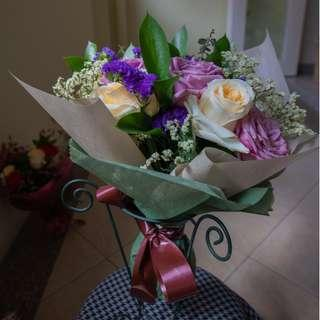 Mothers' Day Pastel Roses