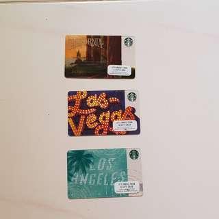 California, Los Angeles, Las Vegas >> Starbucks Gift cards <<