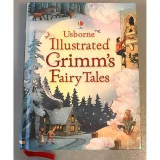 Usborne Illustrated 著名兒童英文短篇小說 Grimm's Fairy Tales