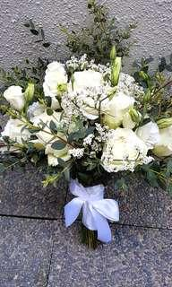 Bridal bouquet - white
