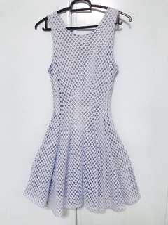 🚚 Light blue cute dress