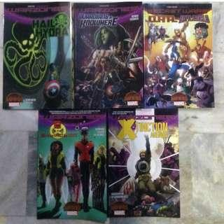 Secret Wars Tie-in TPB set