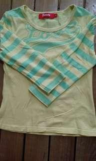 3/4 stretchy blouse size M