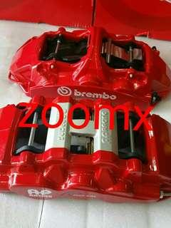 Brake caliper bracket and rotor bell for AP brembo BBK vw gti audi big A4B8 Honda vezel and many more