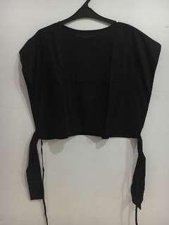 Shopatvelvet front knot top