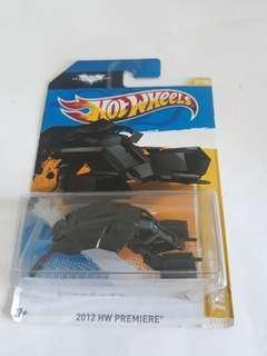 Hot Wheels Batmobile bad pod