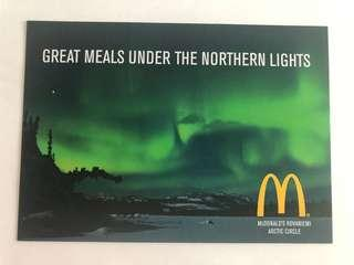 🚚 Finland macdonald postcard most northern mac in the whole world