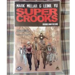 Super Crooks #1 by Mark Millar