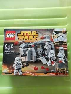 🚚 Lego 75078 Star Wars Imperial Troop Transport