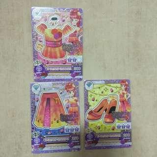 🚚 偶像學園 三張組 卡片 h