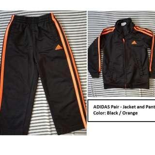 Original Adidas Tracksuit - Jacket and Pants