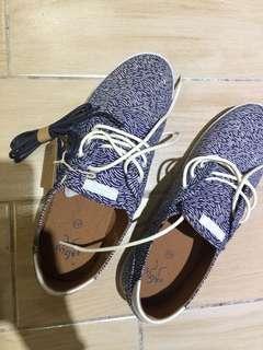 紳士休閒平底鞋US9