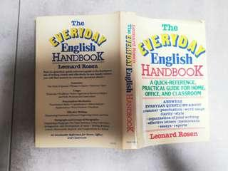 The Everyday English Handbook by Leonard Rosen, Doubleday publisher