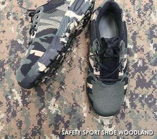 Safety Shoes Camouflage