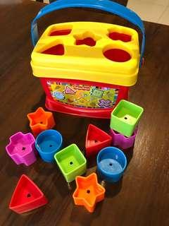 Fisher Price My First Block Set