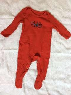 Baby boy clothes long sleeve one-piece pyjamas jumpsuit 3-6 months