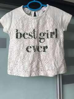 ZARA Kids Baby Girl Shirt