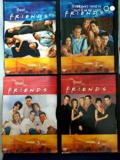 FRIENDS DVD - The Best of Friends