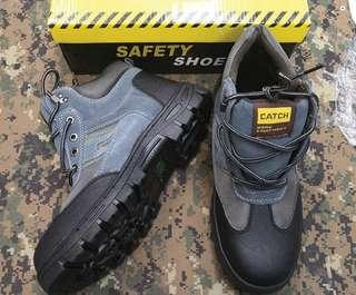 Safety Boot Catch Grey