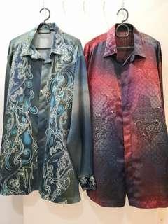 Plus Size Batik Shirt